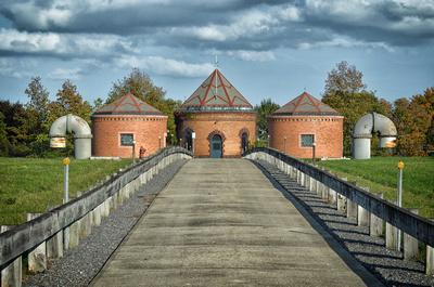 Pumphouses for the Cambridge Resevoir