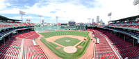 Panorama of Fenway Park