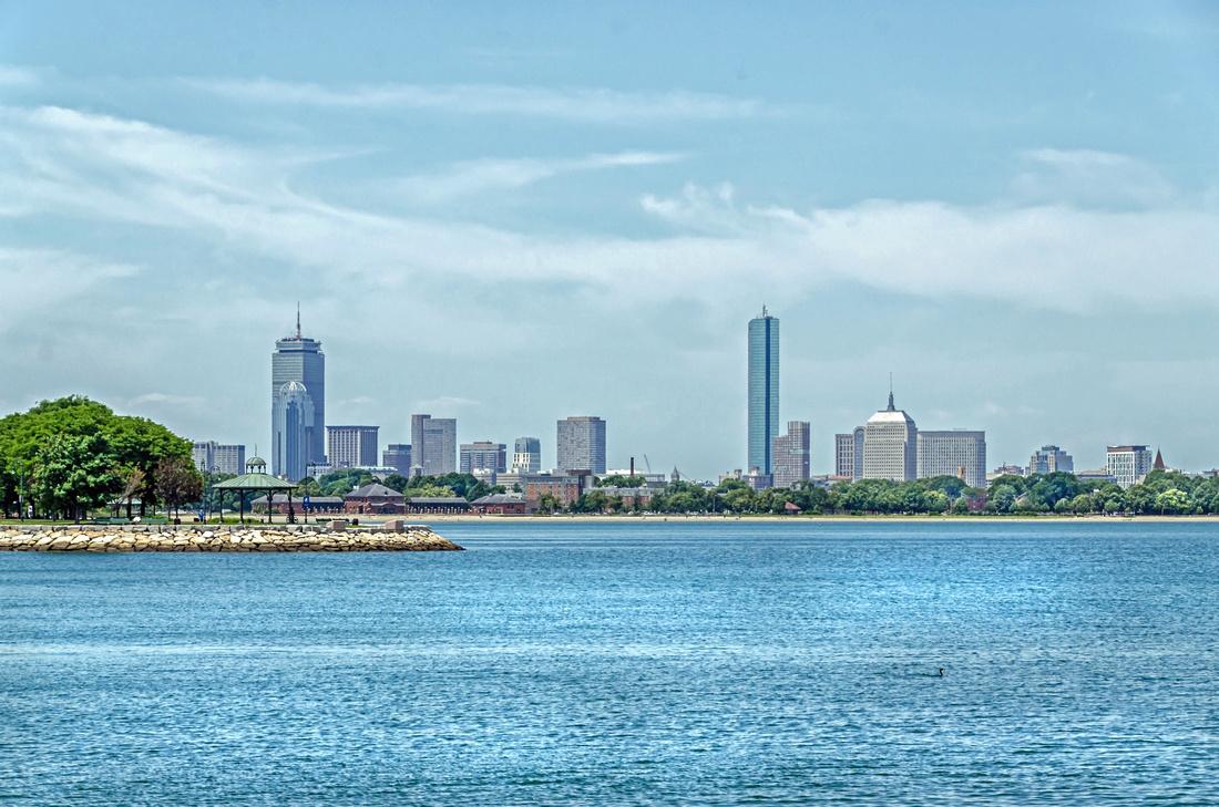 Boston Skyline Waterfont